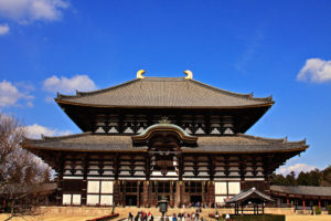 The Todaiji Temple in Nara